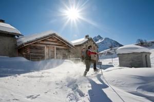 Bergell_Schneeschuhwandern
